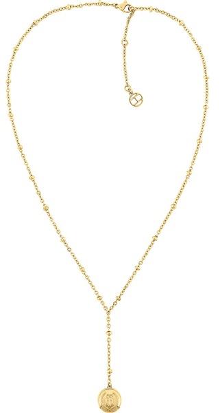 Tommy Hilfiger Moderné pozlátený náhrdelník TH2780377