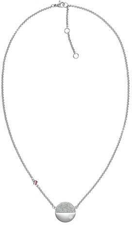 Tommy Hilfiger Nadčasový oceľový náhrdelník s kryštálmi TH2780458