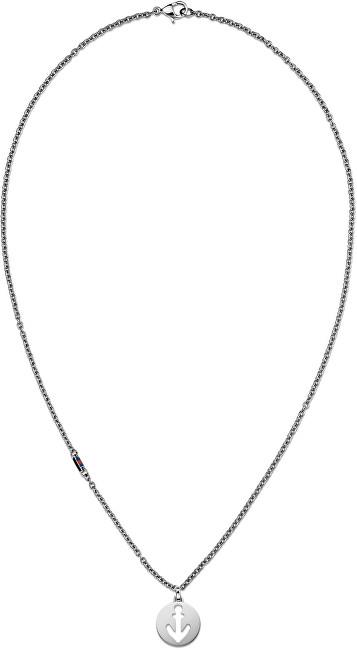 Tommy Hilfiger Oceľový náhrdelník s kotvou TH2700927