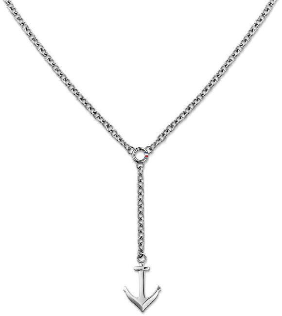 Tommy Hilfiger Oceľový náhrdelník s kotvou TH2700921