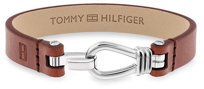 Tommy Hilfiger Pánsky kožený náramok TH2701054
