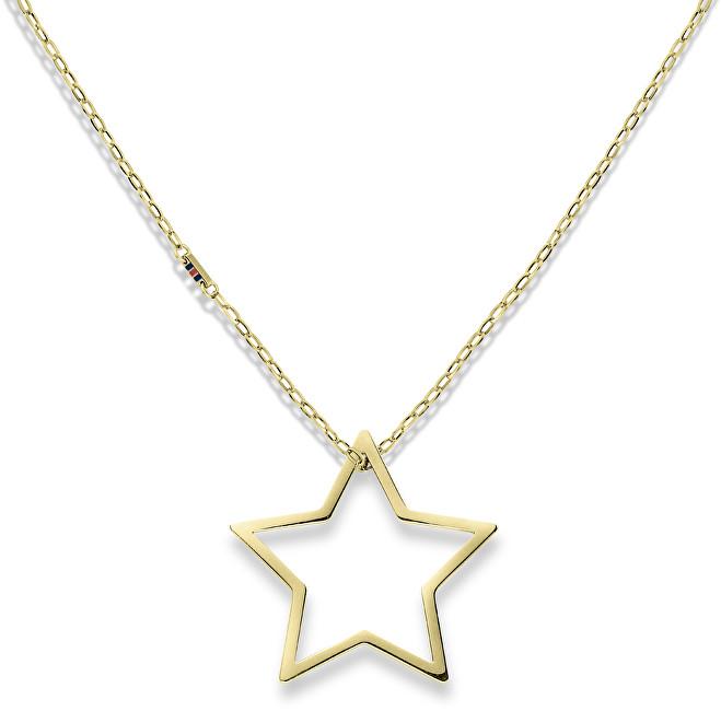 Tommy Hilfiger Zlatý náhrdelník s hviezdou TH2700851