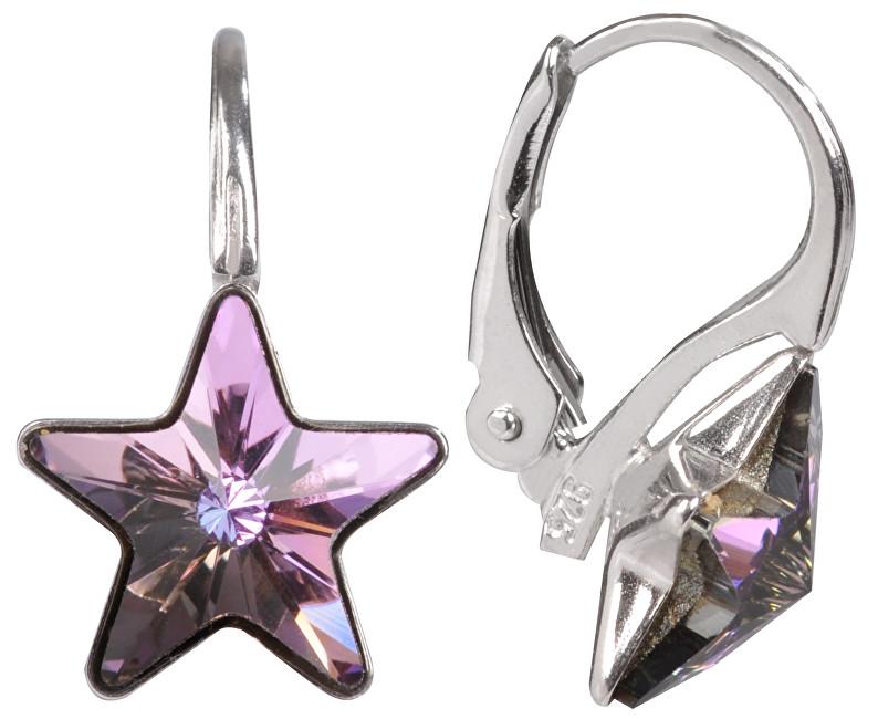 Troli náušnice dívčí Star Vitrail Light E474510KLAgRhVitrail Light