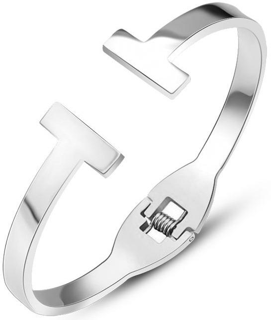 Troli ocelový náramek 54 silver TO1866