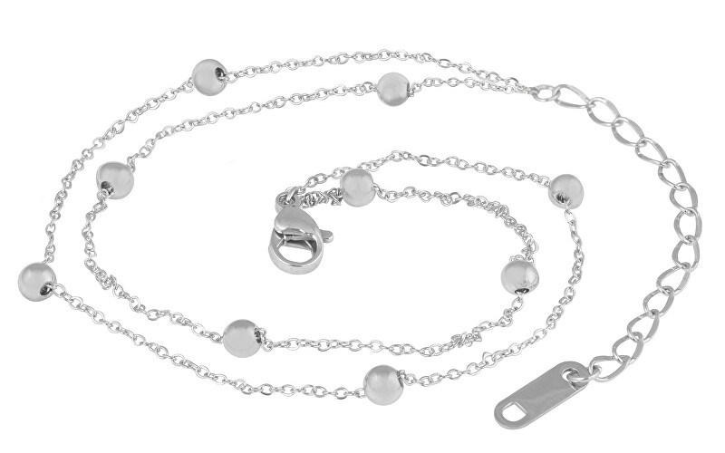 Troli Moderní ocelový náramek Globe Silver