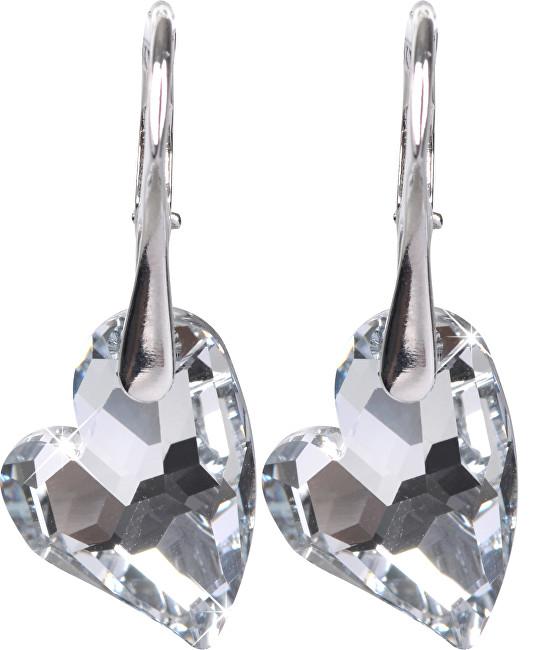 Troli náušnice Heart D2Y Crystal E626117N2RHCrystalCal