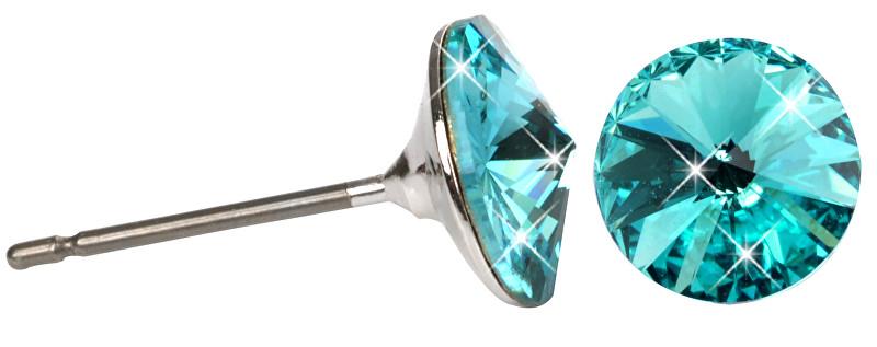 Troli Náušnice Rivoli 8 mm Light Turquois