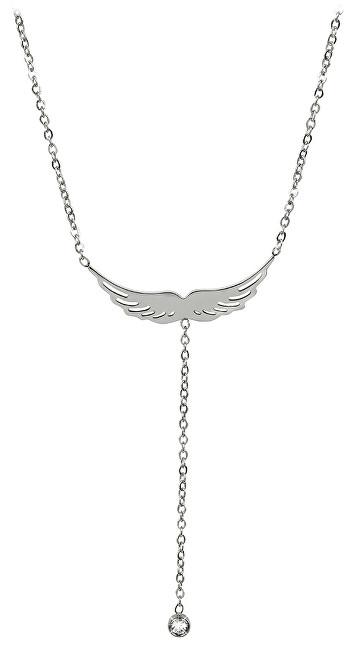 Troli náhrdelník andělské křídlo 75 angel silver TO2345