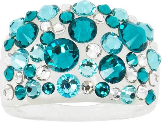 Troli Prsten Bubble Blue Zircon 50 mm