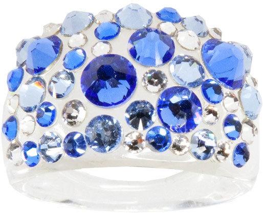 Troli Prsten Bubble Sapphire 53 mm