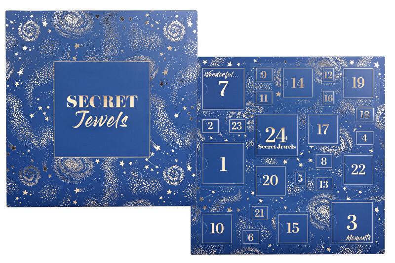 Troli Šperkový adventní kalendář - modrý