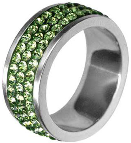 Tribal Prsten RSSW03-PERIDOT 48 mm