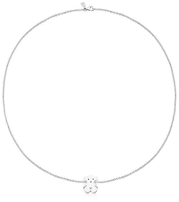 Tous Stříbrný náhrdelník s medvídkem 015904510 (řetízek, přívěsek)