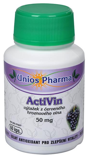 Zobrazit detail výrobku Unios Pharma ActiVin 60 kapslí