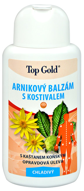 Zobrazit detail výrobku Chemek TopGold - Arnikový balzám s kostivalem - chladivý 200 ml