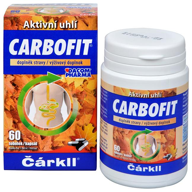 Zobrazit detail výrobku Dacom Pharma Carbofit - aktivované rostlinné uhlí 60 tob.