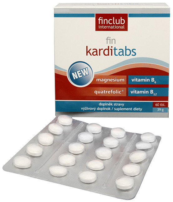 Zobrazit detail výrobku Finclub Fin Karditabs 60 tbl.
