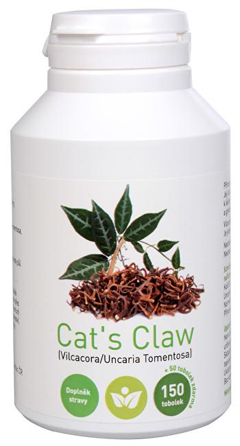 Zobrazit detail výrobku Olimpex Trading Cat´s Claw (Uncaria tomentosa, Vilcacora) 150 tob. + 50 tob. ZDARMA