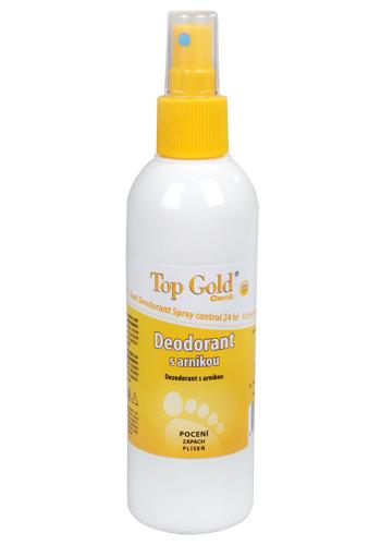 Zobrazit detail výrobku Chemek TopGold - deodorant s arnikou a Tea Tree Oil (na nohy) 150 g