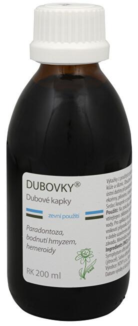 Zobrazit detail výrobku Dědek Kořenář Dubovky - dubové kapky RK 200 ml