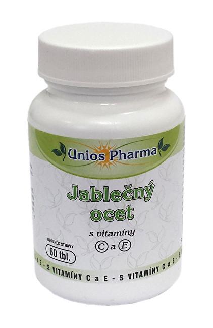 Zobrazit detail výrobku Unios Pharma Jablečný ocet s vitamíny C a E 60 tbl.