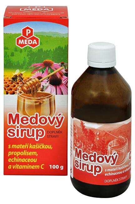 PM Medový sirup s mateří kašičkou, propolisem, echinaceou a vitamínem C 100 g