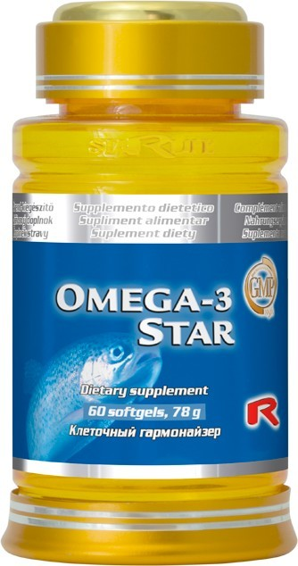 Zobrazit detail výrobku STARLIFE OMEGA-3 STAR 60 tob.