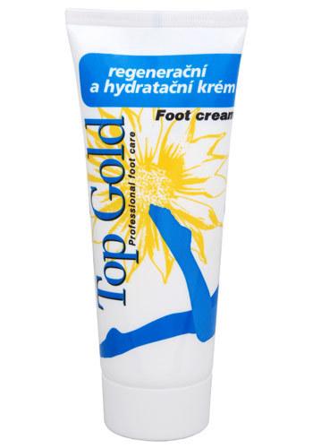 TopGold - regenerační hydratační krém na nohy 100 ml