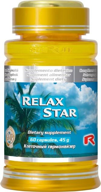 Zobrazit detail výrobku STARLIFE RELAX STAR 60 kapslí