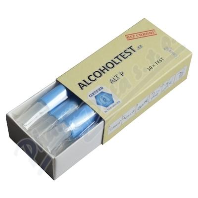 Zobrazit detail výrobku Alliance Healthcare Alkohol Test P - sada 10 ks detekčních trubiček