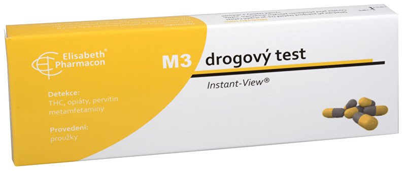 Elisabeth Pharmacon Drogový test M-3 Multipanel Instant-View 1 ks