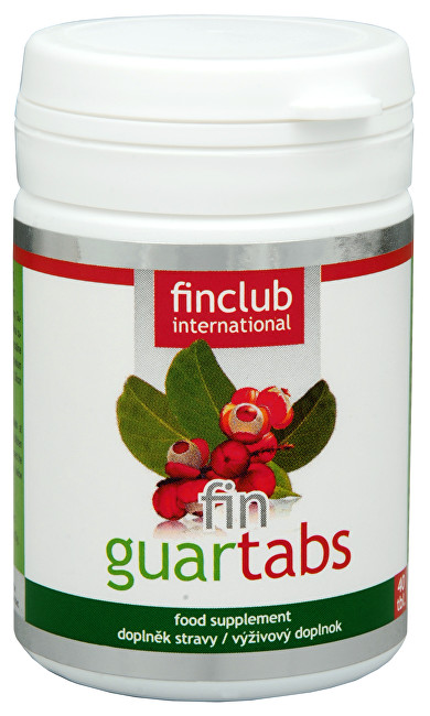Finclub Fin Guartabs 40 tbl.