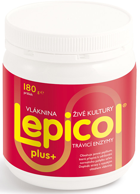 PROBIOTICS INTERNATIONAL LTD. Lepicol Plus 180 g