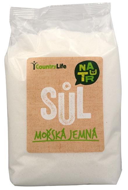 Zobrazit detail výrobku Country Life Mořská sůl jemná z Atlantiku 1 kg