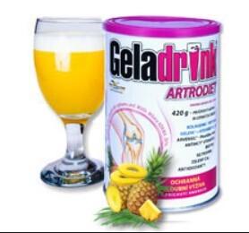 Geladrink Geladrink Artrodiet nápoj 420 g Ananas