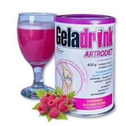 Geladrink Geladrink Artrodiet nápoj 420 g Malina