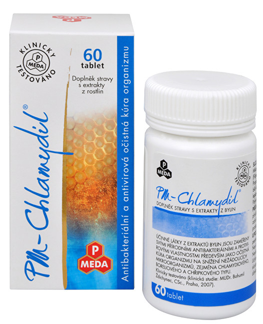 Zobrazit detail výrobku Purus Meda PM Chlamydil 60 tbl.