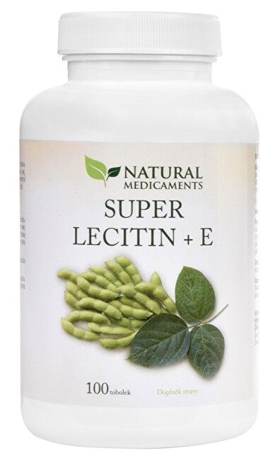 Natural Medicaments Super Lecitin  E 100 tob.