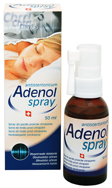 Adenol spray do hrdla proti chrápání 50 ml