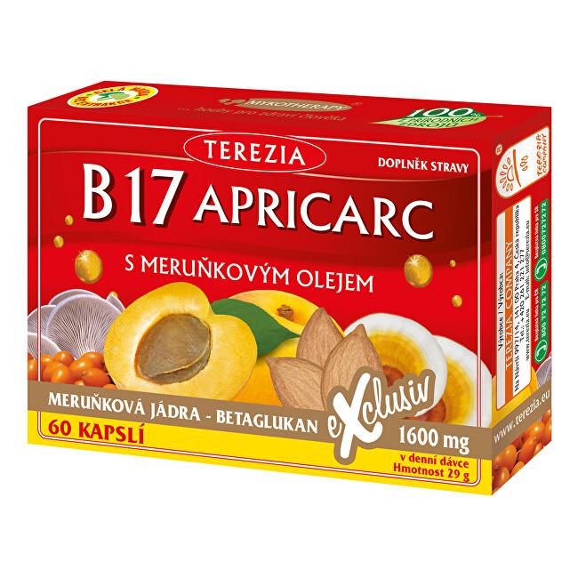 Fotografie TEREZIA B17 Apricarc s meruňkovým olejem 50+10 kapslí