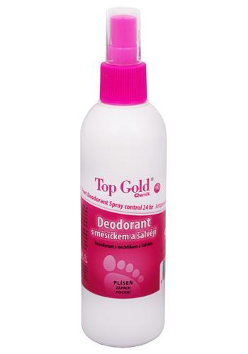 TopGold - deodorant s měsíčkem, šalvějí a Tea Tree Oil 150 g
