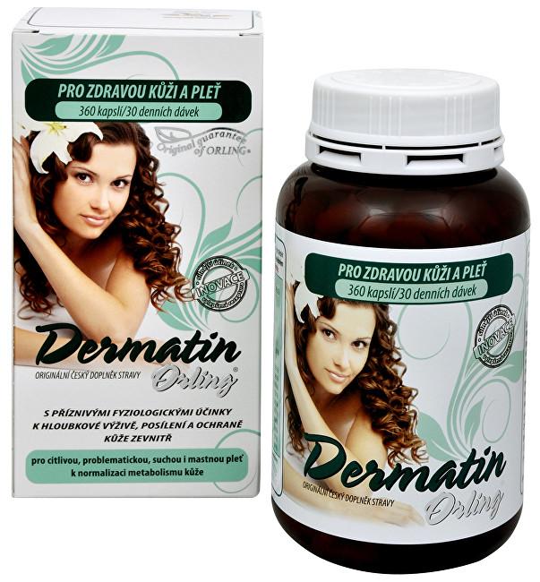 Zobrazit detail výrobku Orling Dermatin 360 kapslí