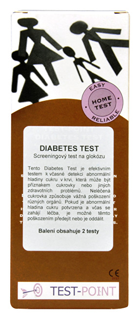 MiraTes Diabetes test 2 ks