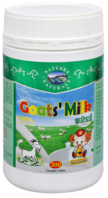Zobrazit detail výrobku Australian Remedy Goat´s Milk (kozí mléko v tabletách) 300 tablet