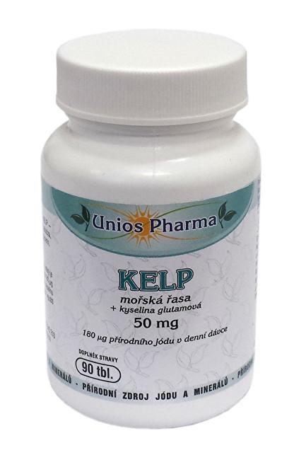 Zobrazit detail výrobku Unios Pharma Kelp - mořská řasa 90 tbl.