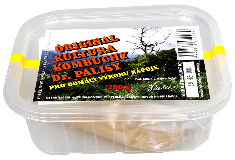 Kombucha - kultura pro domácí výrobu nápoje 200 g