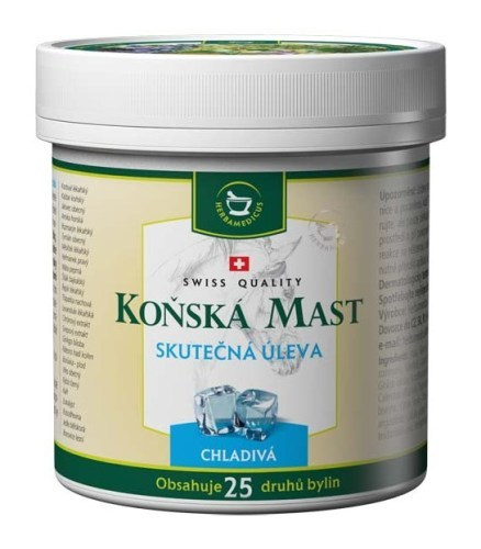 Zobrazit detail výrobku Herbamedicus Koňská mast chladivá 250 ml