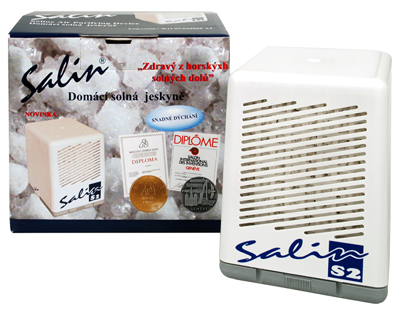 Zobrazit detail výrobku Salin Salin S2 solný přístroj pro čistění vzduchu