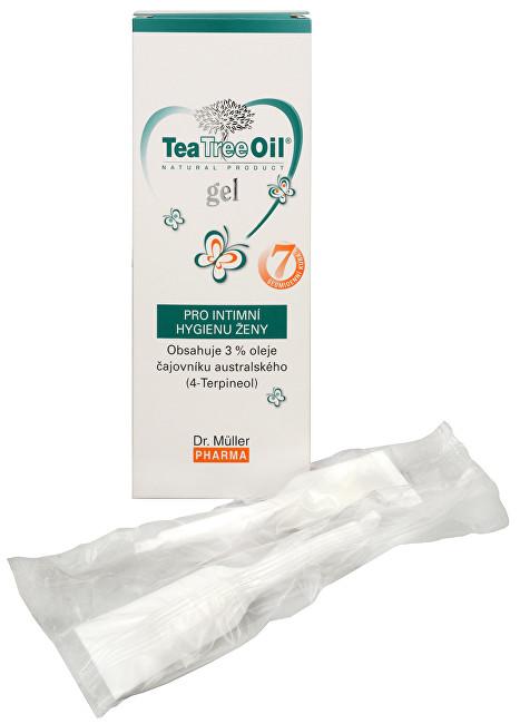 Fotografie Dr. Müller Tea Tree Oil vaginální gel 7 x 7,5 g Dr. Muller