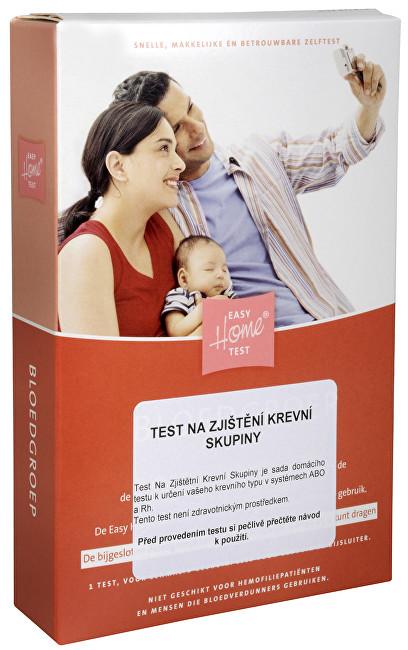 Test na zjištění krevní skupiny 1 ks